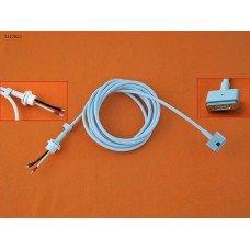 Кабель питания DC Magsafe 2 для блока питания Apple 60W 80W (T-коннектор, длина 1.7м, площадь сечения 0.7мм2, медный)