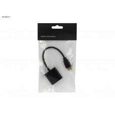 Конвертер переходник 1080P HDMI на VGA черный