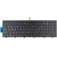 Клавиатура для Dell Inspiron 15R 15-3000 15-5000 17-5000 5547 5521 5542, RU, (чёрная, с подсветкой)