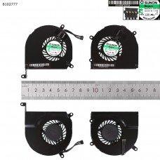 Вентиляторы для Apple MacBook Pro A1278 A1286 MB466 MB470 MC375 MB990 MB991, (левый+правый, OEM)