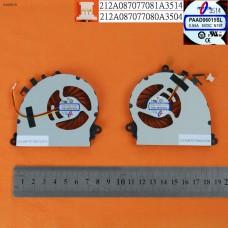 Вентилятор MSI GS70 GS72 (пара вентиляторов, Original)