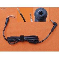 DC Кабель 5.5*2.5 (90W, 1.5м, 0.6мм2, медный, с ферритом) для блока питания ноутбука Asus MSI Toshiba LG Lenovo Fujitsu