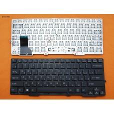 Клавиатура SONY VAIO SVE13 SVS13 RU (чёрная, под подсветку, без рамки)