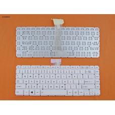Клавиатура Toshiba Satellite L40-B US (белая, без рамки, Original)