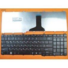 Клавиатура для Toshiba Satellite C650 C660 L650 L670, RU, чёрная, (OEM)