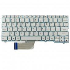 Клавиатура для Lenovo Ideapad 100S-11Iby, US, белая