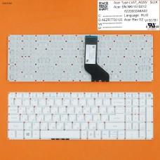 Клавиатура для Acer Aspire E5-722G, V3-574G, E5-573G, E5-532G, A315 A517 A515 A715 A717 series, RU, (белая, Original)