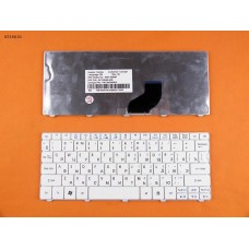 Клавиатура Acer Aspire One 521, 522, 532, D260, D270, Gateway LT21 RU, белая, Original