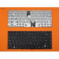 Клавиатура для Acer Aspire V5-472 V5-473 V7-481 V7-482, TravelMate P446-M P645-M, RU, (чёрная, ZQK, Original)