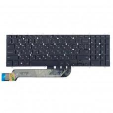 Клавиатура для Dell Inspiron Gaming 15 7566 7567 5570 5575 7570 7577, 17 5770 5775, RU, (чёрная, с подсветкой)