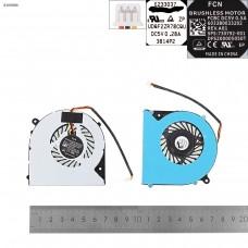 Вентилятор для Clevo 6-31-N5502-102 F57-D1 F57-D1C F57-D1T, (DFS551205WQ0T FH22, OEM)
