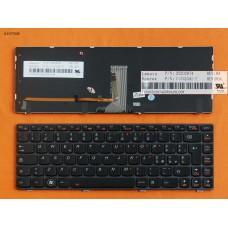 Клавиатура Lenovo Y480 IT (черная, с подсветкой)
