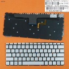 Клавиатура HP ENVY 13-ab001ne 13-ab000nj 13-ab001nj 13-ab001nv series, RU (серая, с подсветкой, Original)