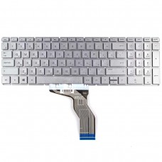 Клавиатура для HP 250 255 G6, Pavilion 15-cd 15-CC 15-BS series, RU (Silver, серебристая, OEM)