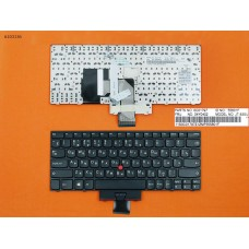 Клавиатура Lenovo Thinkpad E220 E220s S220 RU (черная, с поинтстиком, Original)