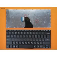 Клавиатура SONY VAIO SVF14 series, RU (черная, без рамки, Original)