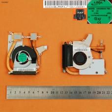 Вентилятор с радиатором Fujitsu Lifebook P3010 P3110 P3010B P3110 P3010R (для встроенной графики ,система охлаждения, Original)
