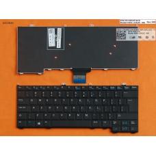 Клавиатура Dell Latitude E7440 E7420 E7240 UK (черная, Original)