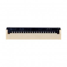 FFC Разъем 20pin*1.0mm, Flip type, контакты внизу