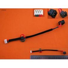 Разъем гнездо питания Toshiba Satellite A85 A100 A105 Series PJ245-30 (6.3*3.0mm, с проводом/кабелем)