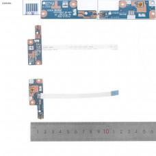 Кнопка включения с шлейфом Lenovo B40-30 B40-45 B40-70 B40-80 LS-B091P ZIWB0 ZIWB2 NBX0001KX00