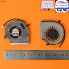 Вентилятор кулер для MSI GE62VR GP62MVR MS-16J9 MS-16JB, (4pin, для GPU, PAAD06015SL N371, Original)