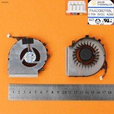 Вентилятор для MSI GE72VR GP72VR 6RF MS-179B, GE62VR GP62MVR MS-16J9 MS-16JB, (4pin, для CPU, Original)