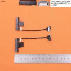 Шлейф HDD/SSD для ноутбука Dell Inspiron 13-7359 Series, 0VK4H9 450.05M02.0001