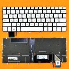 Клавиатура Dell XPS 13 9370 RU (белая, с подсветкой, Original)