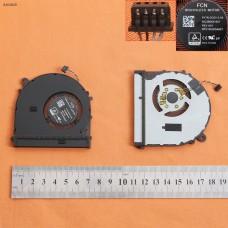 "Вентилятор кулер для Xiaomi mi air PRO 15.6"", (левый, 6033B0061501, ND55C05-17E23, 6033B0059101, For GPU, Original)"