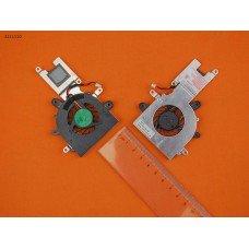 Вентилятор кулер для Clevo Casper M1110, (AB0505HX-JC3, Original)
