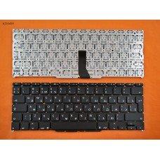 """Клавиатура для Apple Macbook Air A1370 A1465 11.6"""", RU, (вертикальный ENTER, черная, под подсветку, Original)"""