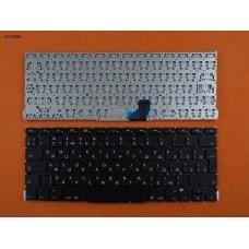 Клавиатура Apple Macbook Pro A1502 RU (вертикальный ENTER, черная, под подсветку)