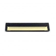 FFC Разъем 30pin*0.8mm, Flip type, контакты внизу (клавиатуры Dell)