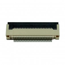 FFC Разъем 24pin*0.5mm, Flip type, контакты внизу