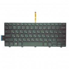 Клавиатура Dell Inspiron 14-3000 5447 5442 5445 7447 Series (RU, черная, с подсветкой)