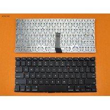 """Клавиатура для Apple Macbook Air 13"""" A1369 A1466, MC965 MC966 MC503 MC504 MD231 MD232, US, Black, (горизонтальный Enter, 2011-2015)"""