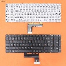 Клавиатура Toshiba Satellite L50-B S50-B L50D-B L50T-B L50DT-B L55(D)-B S55-B S55T-B S55D-B (Spanish, черная, 342x112mm, версия 2, вертикальный Enter)