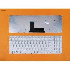 Клавиатура Toshiba Satellite L50-B S50-B L50D-B L50T-B L50DT-B L55(D)-B S55-B S55T-B S55D-B UK (белая, 342x112mm, версия 2, вертикальный Enter, Original)