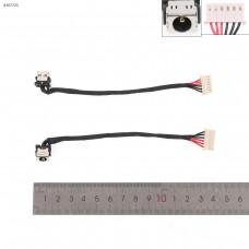 Разъем гнездо питания Asus TUF Gaming FX504ge FX504ge series (с проводом/кабелем 12см, 14026-00010300, PJ1059)