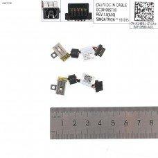 Разъем гнездо питания Dell Latitude 13 7350 (A14891, TXB 01, PJ939, с проводом/кабелем)