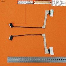Шлейф матрицы Clevo W370ET W370 K750s K760E (OEM)