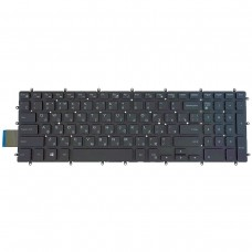 Клавиатура для Dell Inspiron Gaming 15 7566 7567 5570 5770 5775 5575 7570 7577, RU, (чёрная, с подсветкой, OEM)
