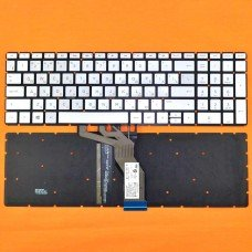 Клавиатура HP 250 255 G6 Pavilion 15-cd 15-CC 15-BS series, RU (Silver, с подсветкой, Original)