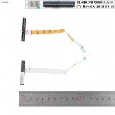 Шлейф Sata HDD/SSD Lenovo Thinkpad L480 EL480, 14pin, NBX0001LA10