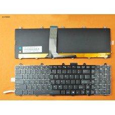 Клавиатура для MSI GT60 GT70 GT780 GT783 GX780, US, (полноцветная подсветка, Original)