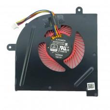 Вентилятор кулер для MSI GS63VR, GS73VR, GS73, GS62, (красные лопасти, для CPU)