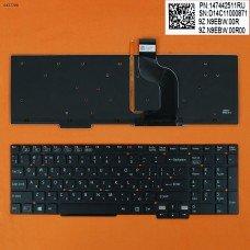 Клавиатура для Sony Vaio SVT15 series, RU, (черная, с подсветкой)