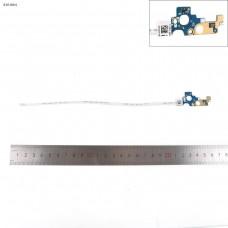 Кнопка включения с шлейфом для Dell Inspiron 17 5755 5758 5759 Series, LS-B845P, 0T2CVC, AAL10
