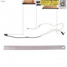 Шлейф матрицы для Dell Inspiron 5570 5575 P75F, (0T93V4, DC02002VA00, 40pin, Original)